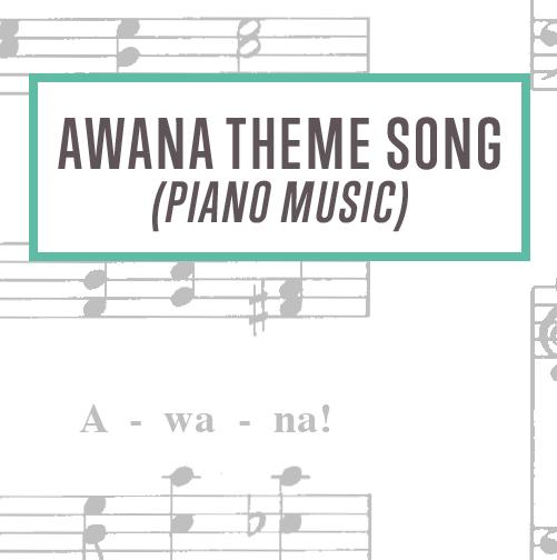 Awana Theme Song Piano Music Thumbnail