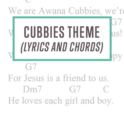 Cubbies Theme Lyrics and Chords Thumbnail
