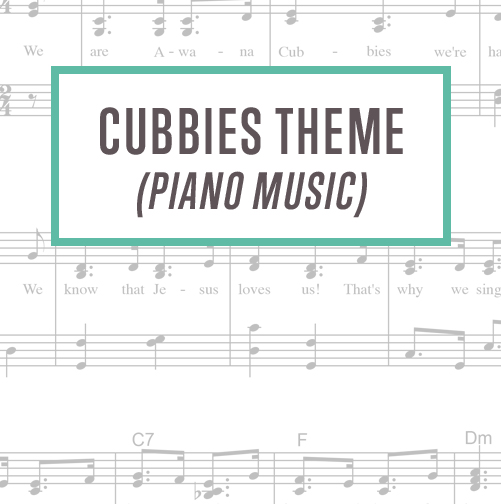 Cubbies Theme Piano Music Thumbnail