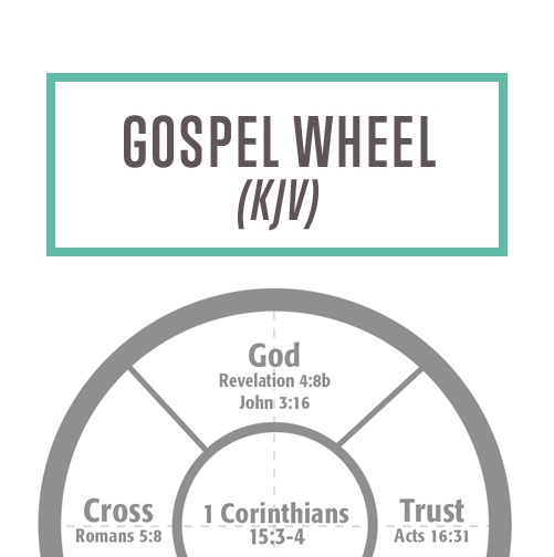 Gospel Wheel KJV Thumbnail