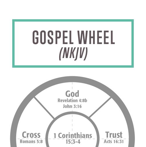 Gospel Wheel NKJV Thumbnail