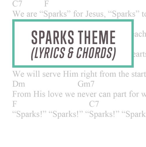 Sparks Theme Lyrics Chords Thumbnail