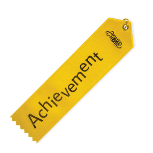 Achievement Ribbon Yellow 57509