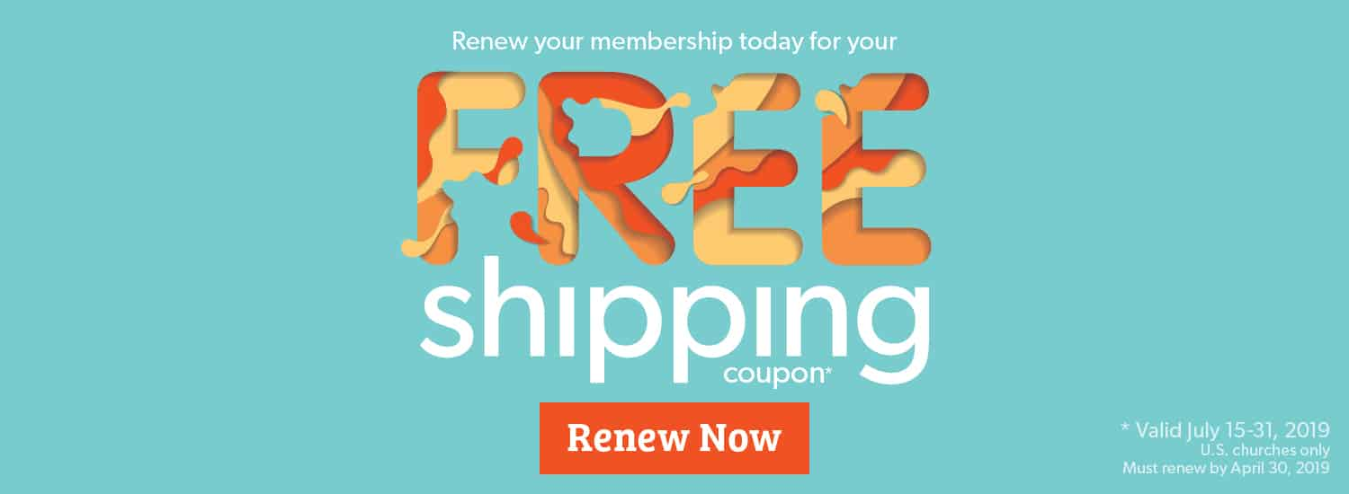 Renew Your Membership Today For Your Free Shipping Coupon - Renew Now