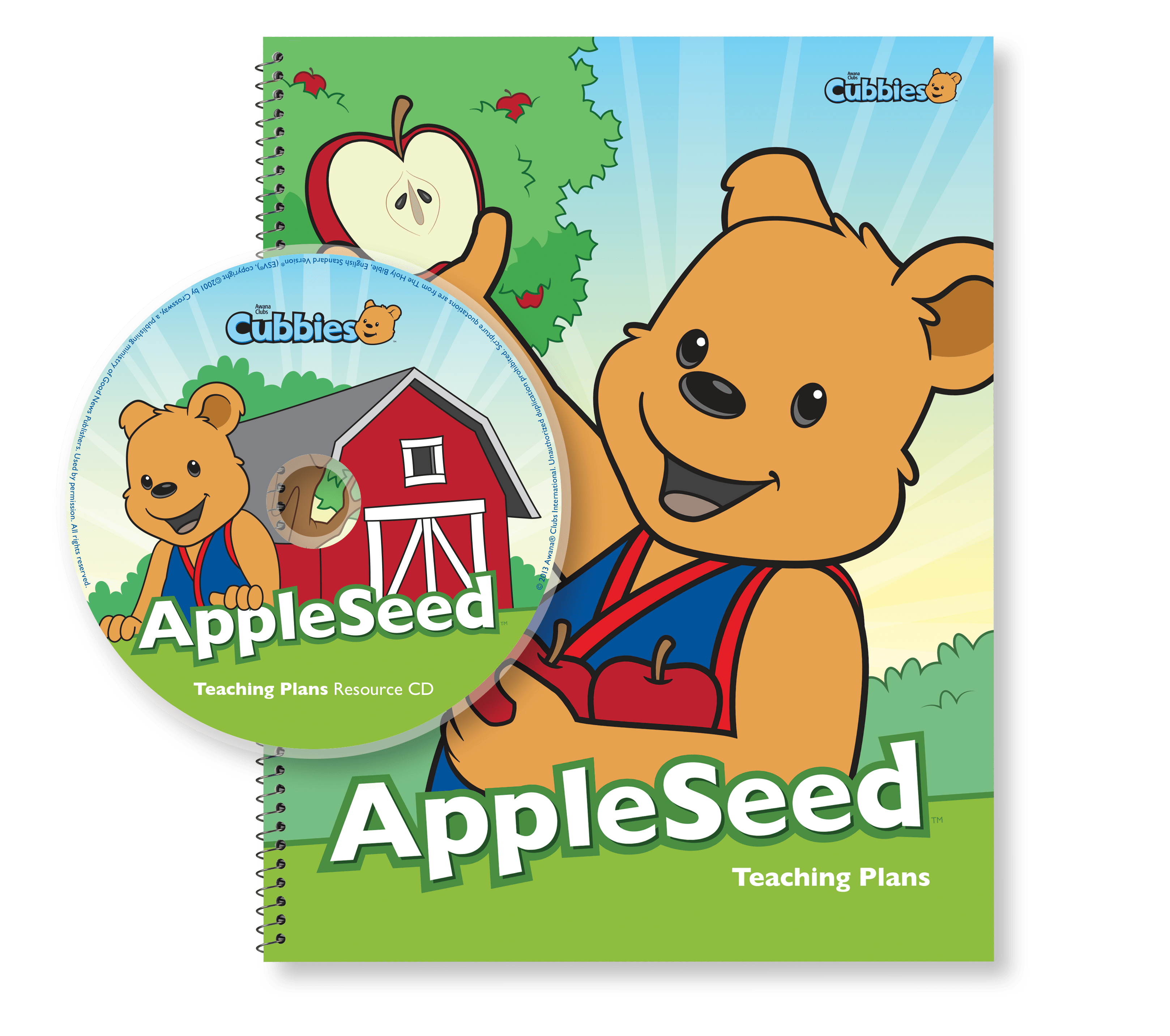 Awana Cubbies Coloring Pages - Appleseed Teaching Plans With Cd ... | 2867x3236