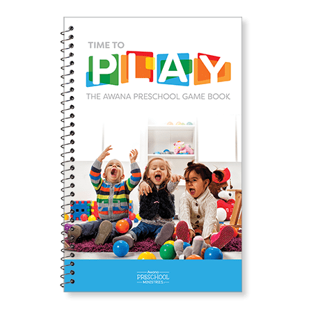 Awana Time to Play Preschool Game Book 79635