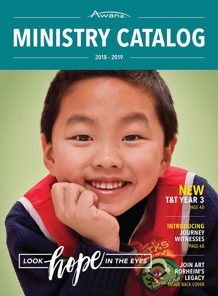 2018-19 Awana Ministry Catalog