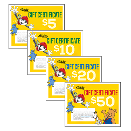 Awana Clubs Downloadable Gift Certificates